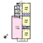 102号室(間取)