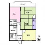 105号室(間取)