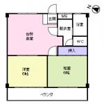 203号室(間取)