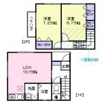 II号室(間取)